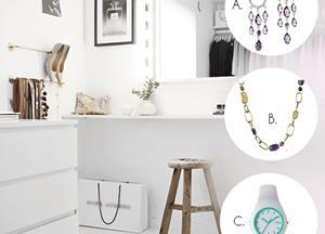 Brez katerega kosa si ne predstavljaš svoje modne omare?  A, B ali C? :-)